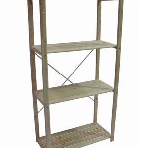 397355_SPS4UP14_Starter pack 4Shelf DIY 400mm Unit (A.Grade)-B