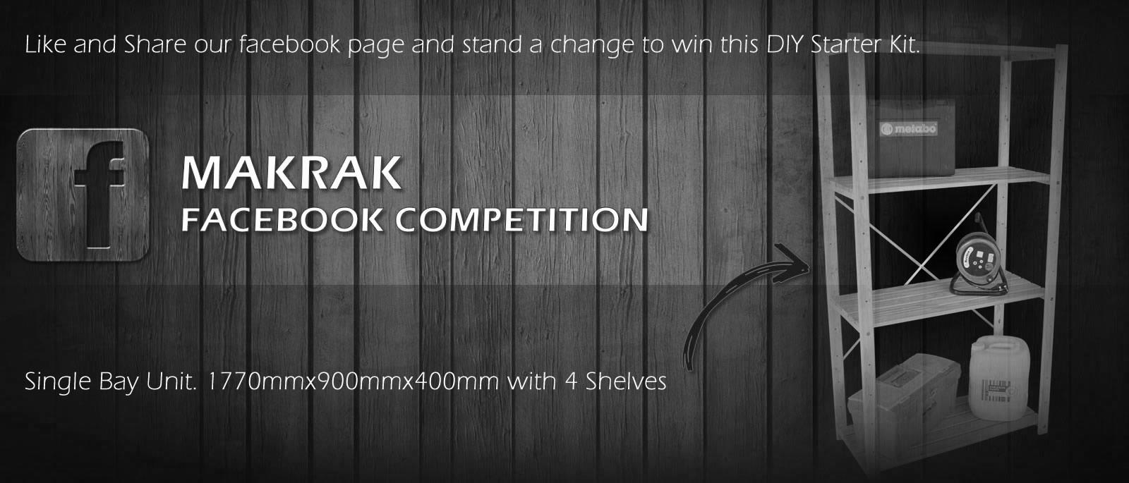 Facebook Competition – DIY Starter Kit